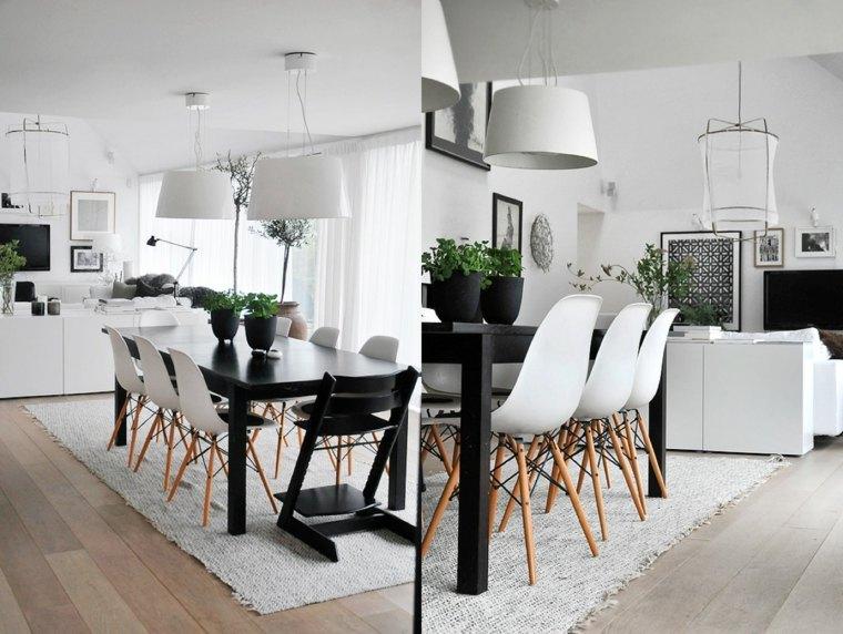 diseño comedor sillas Eames