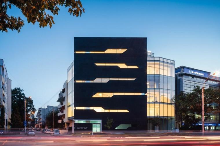 diseño de fachada edificio