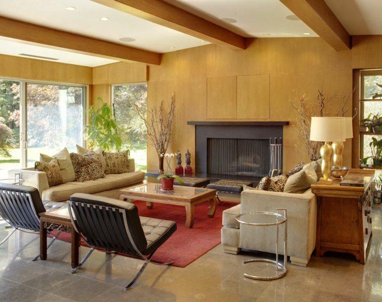 Estilo vintage para la sala de estar el estilo de los for Sillones salon diseno