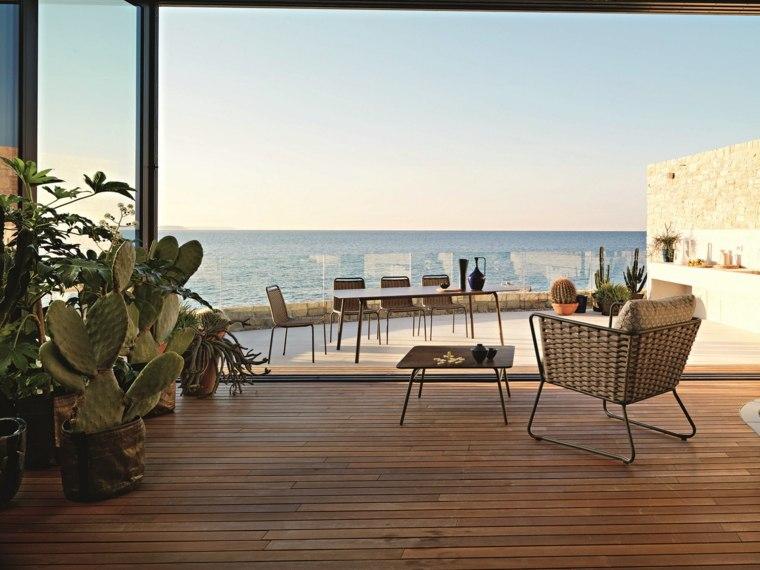 disenos de terrazas exteriores Roberti Rattan Furniture ideas