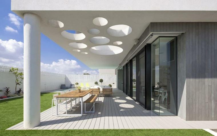 disenos de terrazas exteriores Shachar Rozenfeld Architects ideas