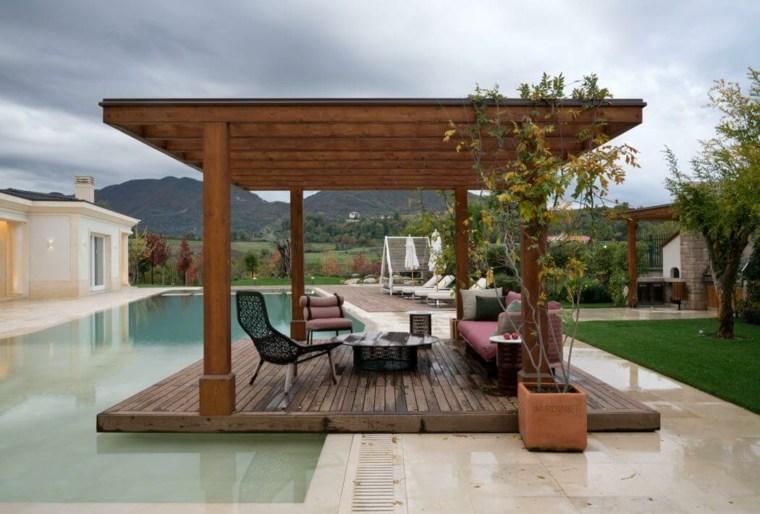 disenos de terrazas exteriores Studio Marco Piva ideas