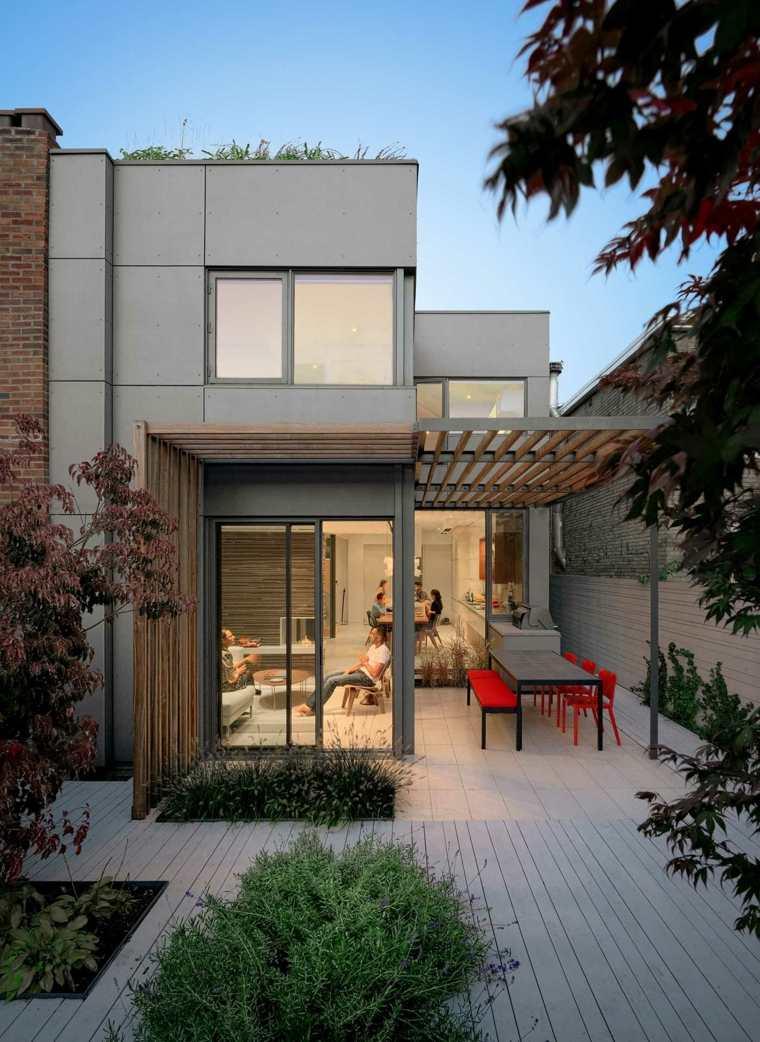 disenos de terrazas exteriores comedor DUBBELDAM Architecture Design ideas