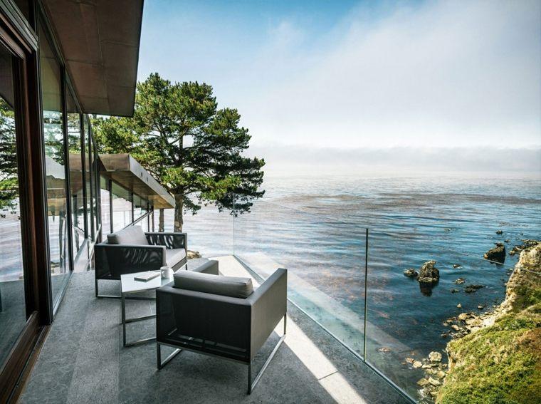 disenos de terrazas exteriores diseno epacios simple ideas