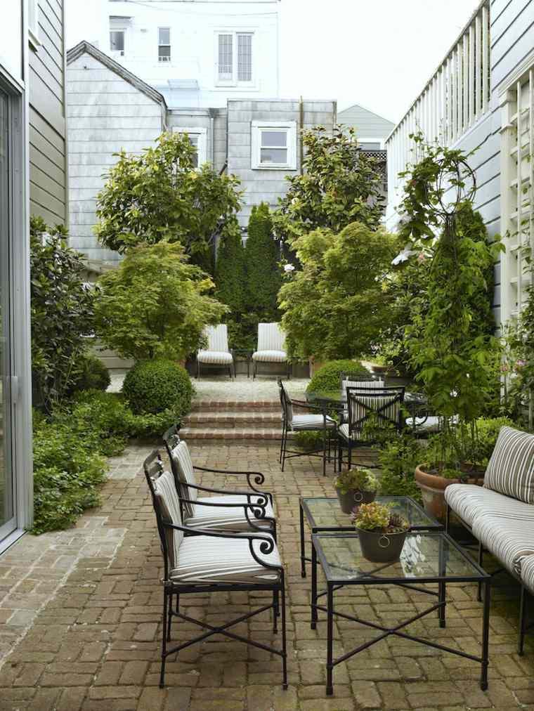 disenos de terrazas exteriores elizabeth everdell garden design ideas