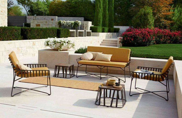 Dise os de terrazas exteriores y jardines que estimular n for Muebles exterior diseno