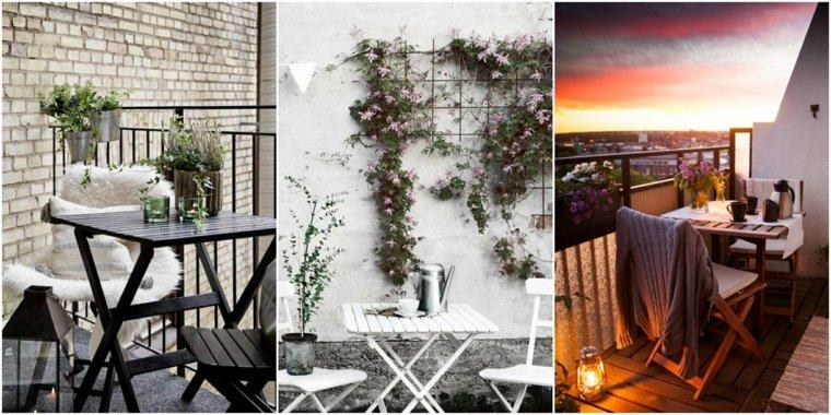 distintos variantes decorar balcon ideas
