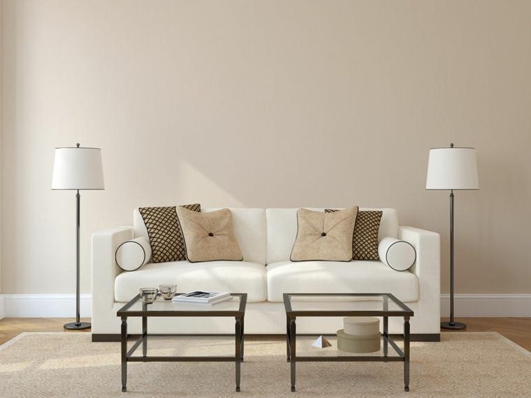 dobles suelo elegantes claras muebles bajas