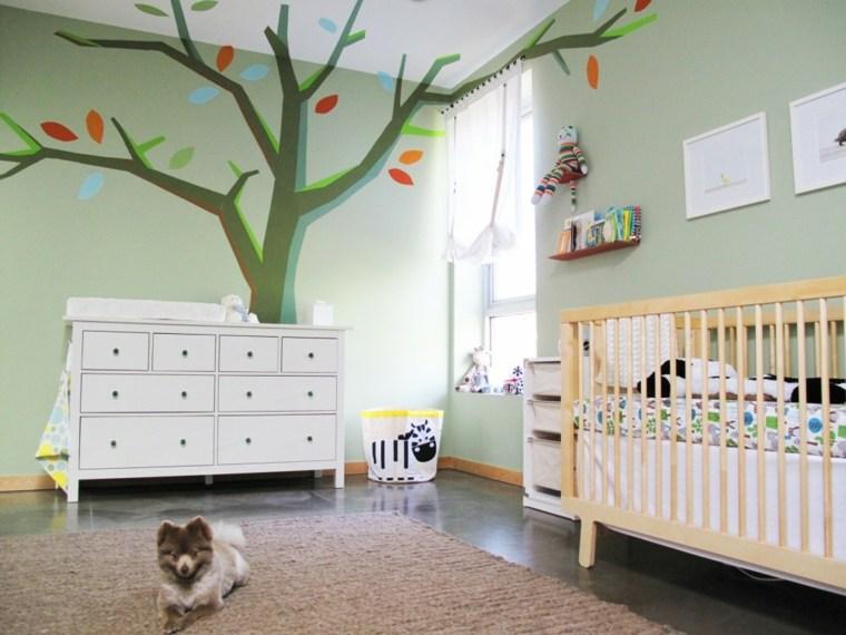 dormitorio bebé niña decorado