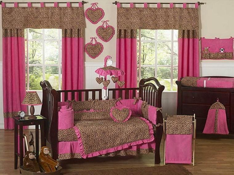 Habitaci n para beb ni a unos dise os originales - Dormitorios bebe nina ...