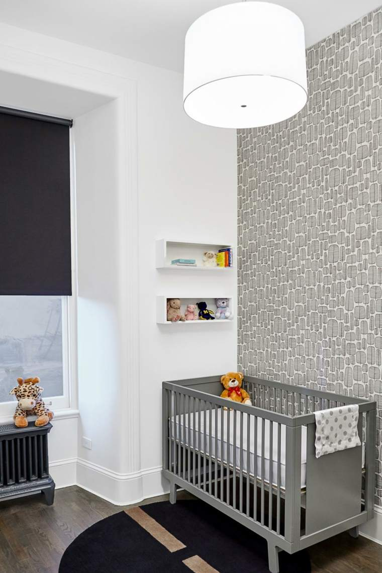 dormitorios bebe tonalidades grises claros