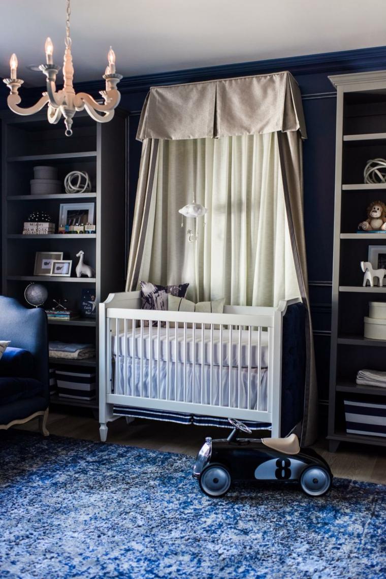 dormitorios bebe varones alfombras peculiar