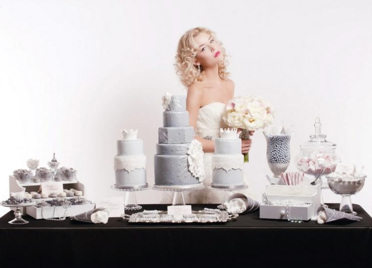 dulces para bodas decorar