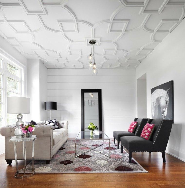 elegantes cristal techo decorado partes