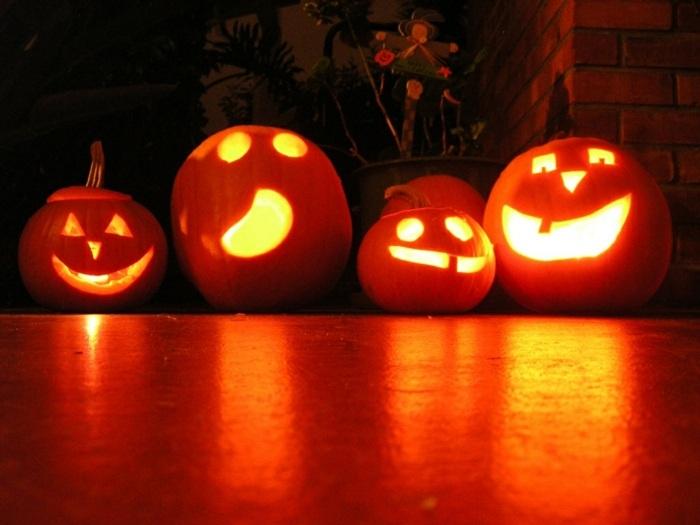 entradas casa estilo halloween efectos