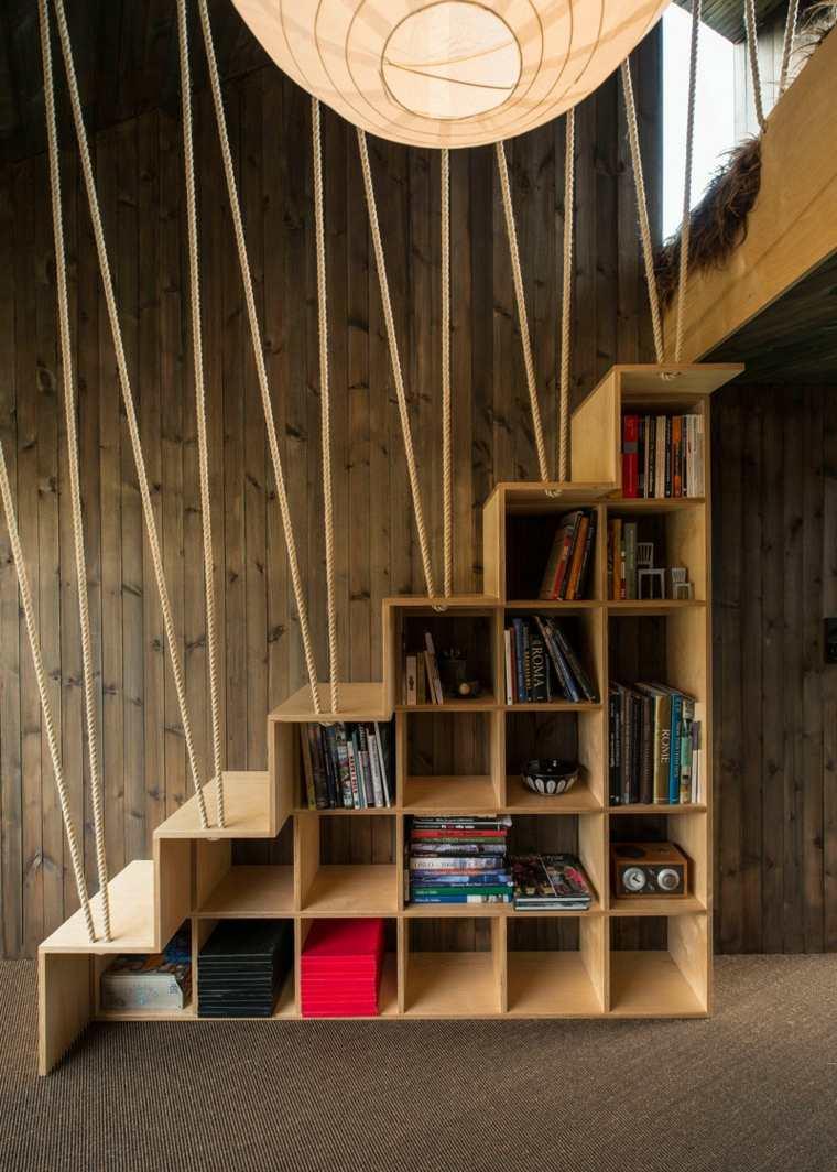 escaleras de interior diseno bambu madera Jarmund Vigsnæs AS Arkitekter MNAL ideas