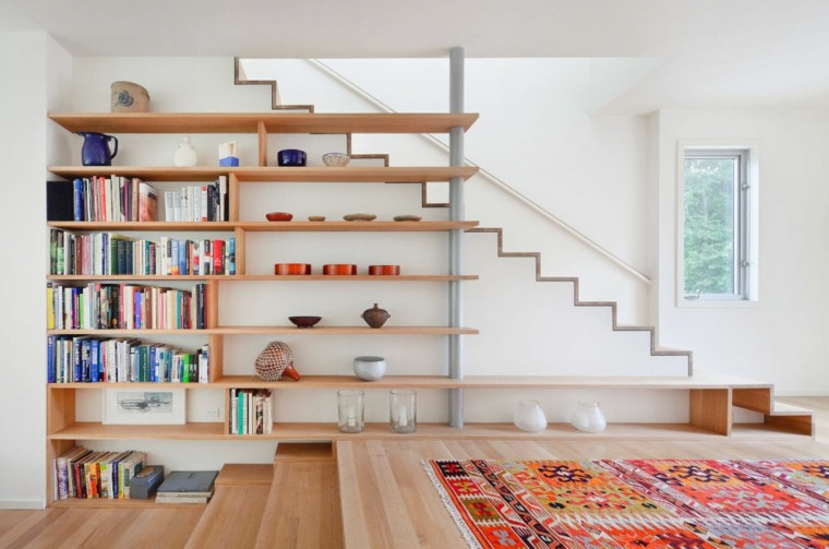 escaleras de interior diseno escandinavo Stephen Moser Architect ideas