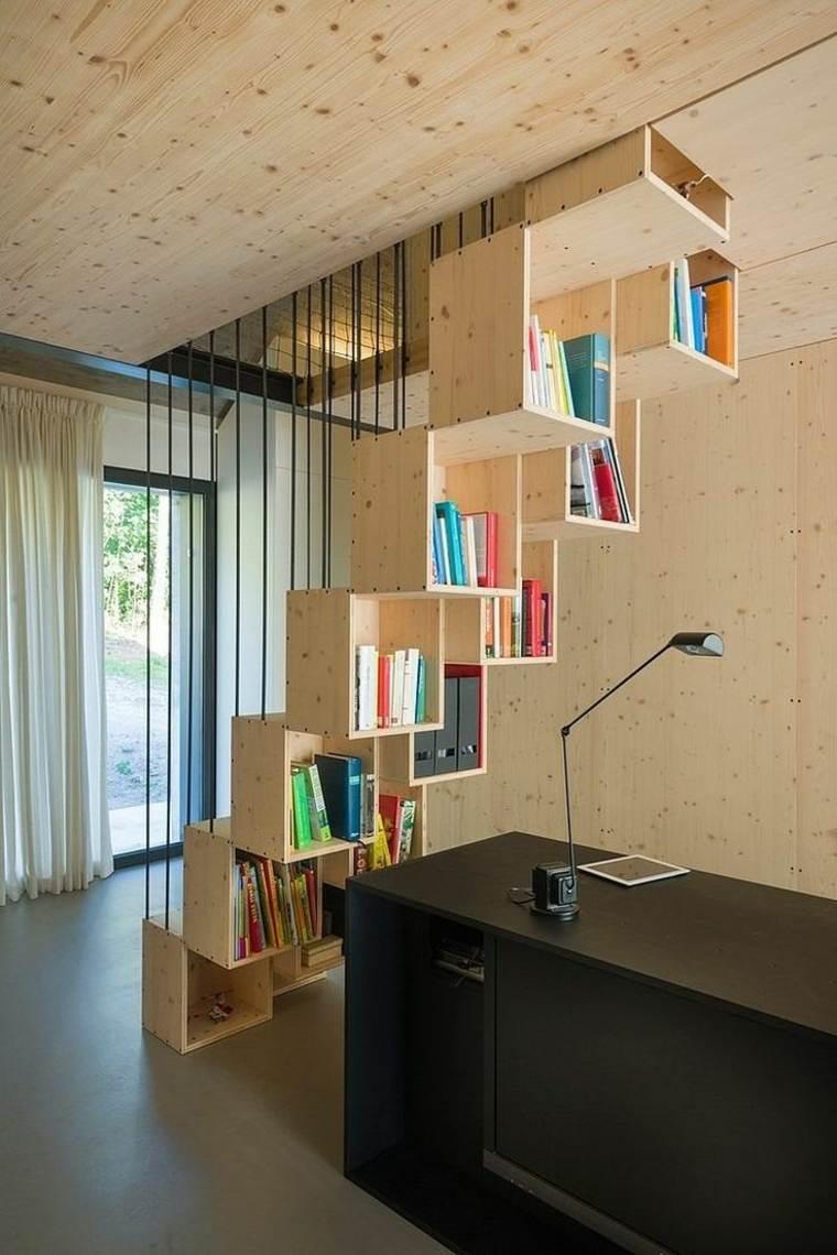 escaleras de interior diseno libros Dekleva Gregoric Arhitekti ideas