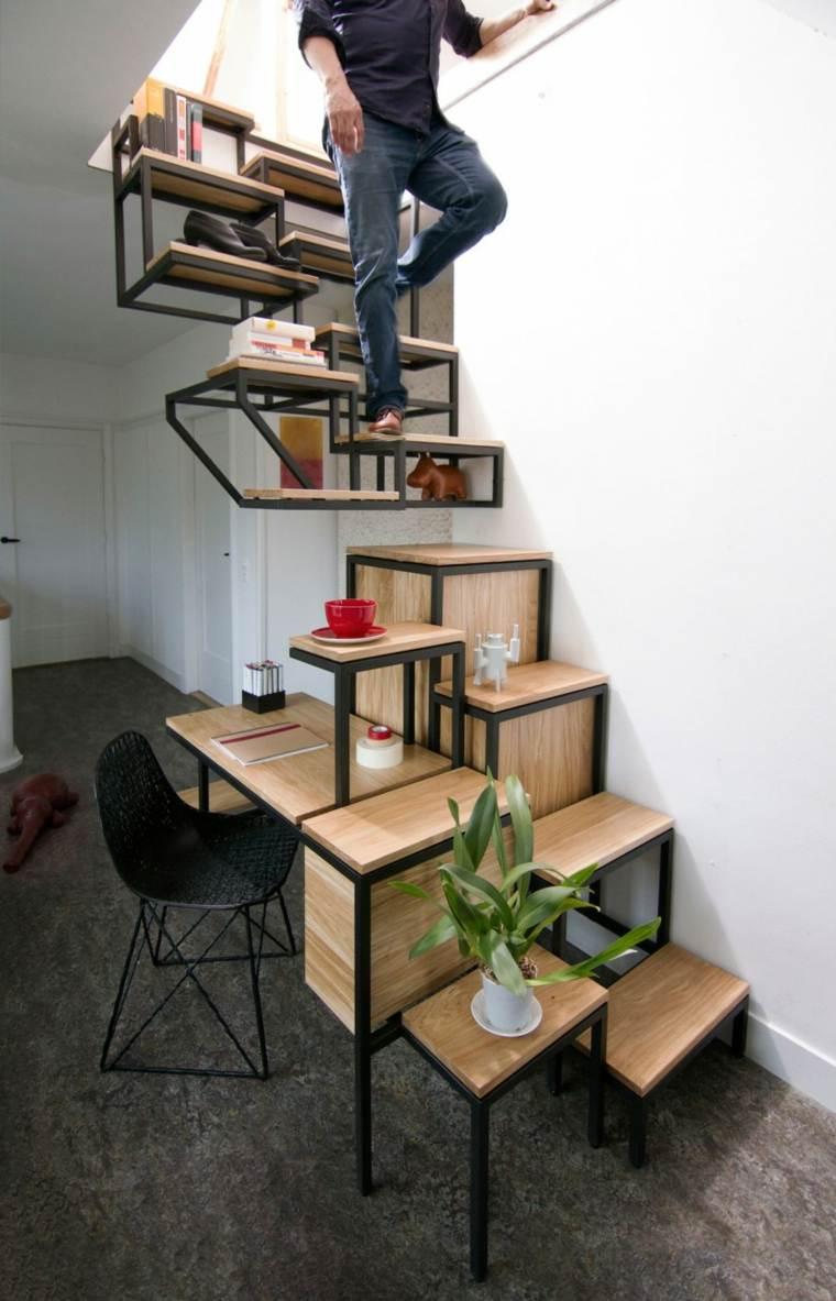 escaleras de interior diseno lugar trabajo Studio Mieke Meijer ideas
