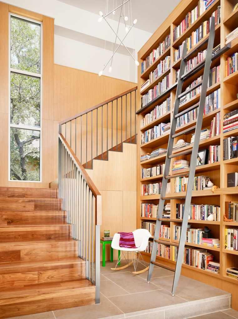 escaleras de interior diseno madera rustico Chioco Design ideas