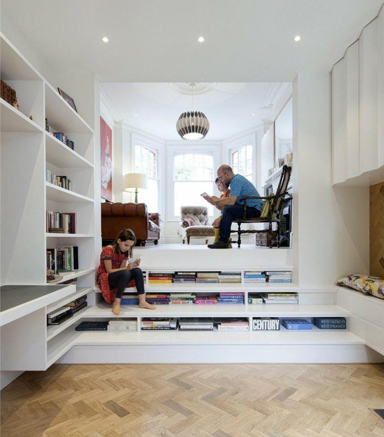 escalones lugar libros diseno interior Marc Cowan ideas