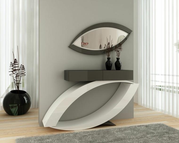 Espejos para recibidores la modernidad de vuestra entrada for Espejos originales recibidor
