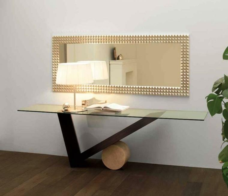 Mesas de recibidor modernas recibidor moderno vezde for Espejos modernos para recibidor