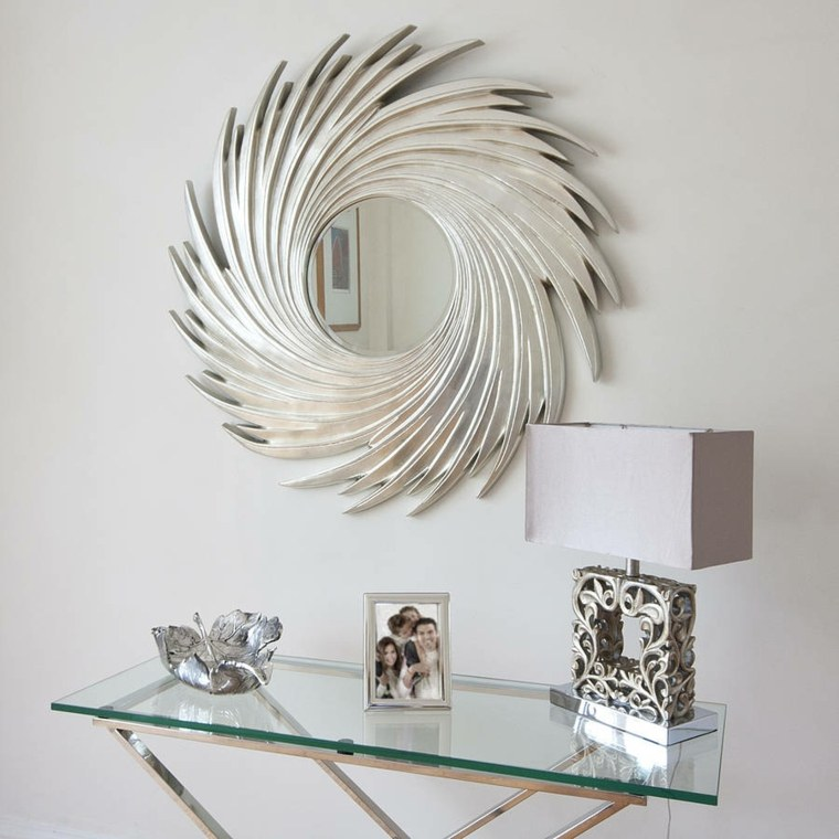espejos para recibidores decoración pared