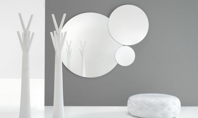 Espejos para recibidores la modernidad de vuestra entrada - Specchi particolari per camera da letto ...