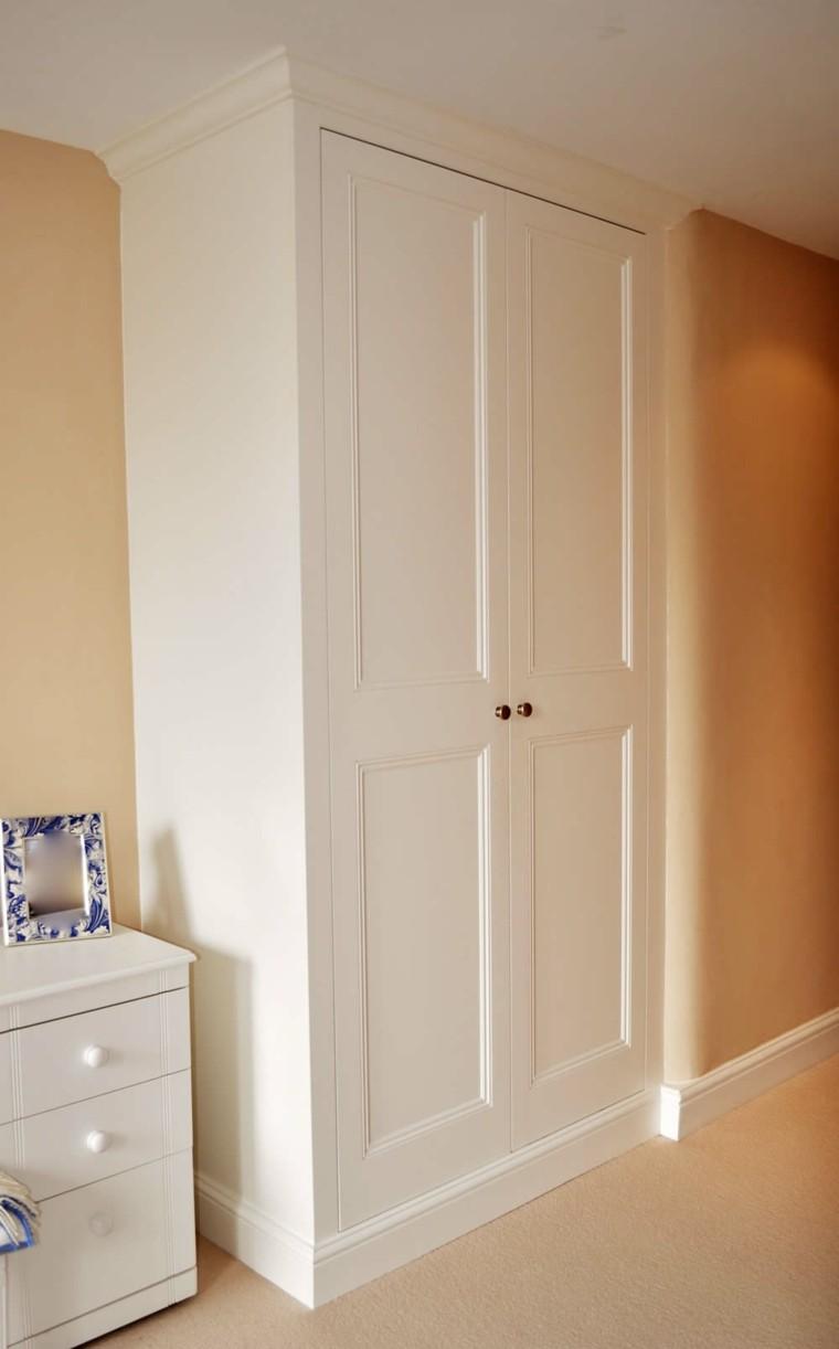 esquina habitacion conceptos muebles blanco