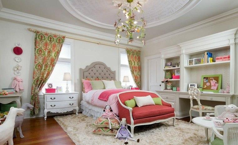estupendas cortinas estampados colores
