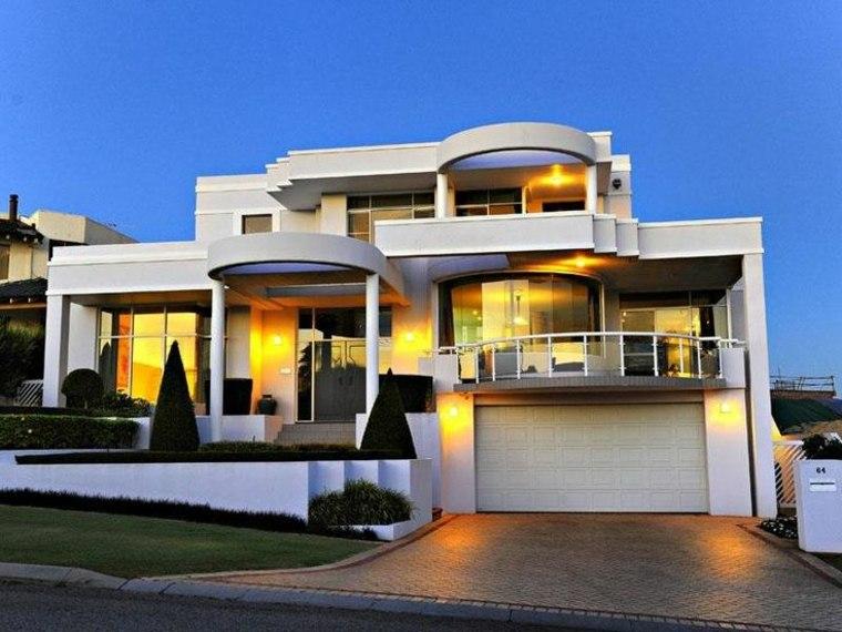 estupenda fachada casa lujo