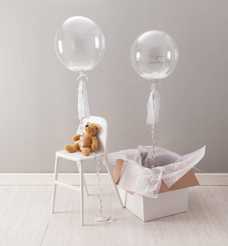 globos transparentes pompas jabon