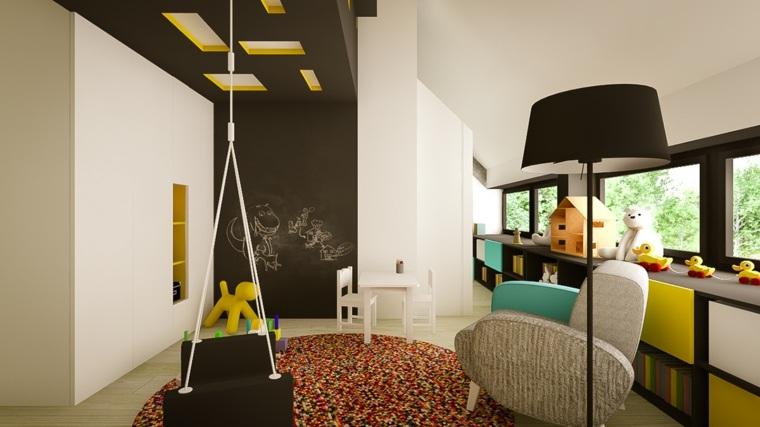 Decoración habitaciones infantiles modernas