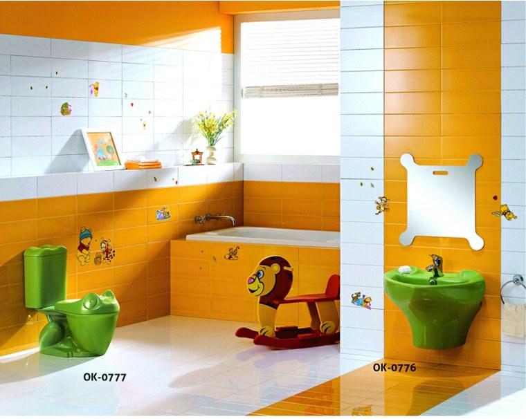 Baños infantiles - los diseños más divertidos y funcionales