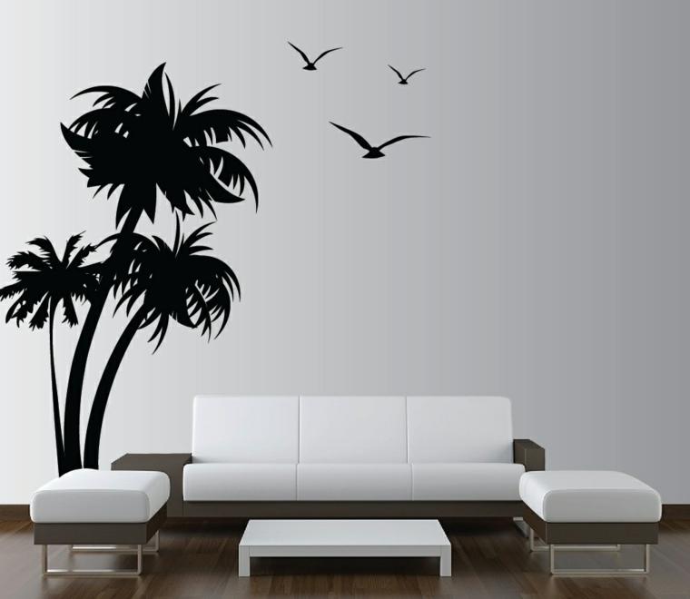 Vinilos decorativos economicos para las paredes de tu hogar for Viniles para recamaras