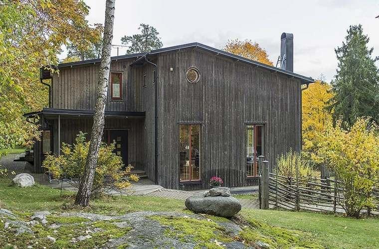fachadas casas de pueblo madera