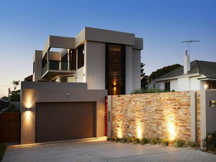 Fachadas casas m s dise os que no puedes perderte for Piedras para fachadas minimalistas