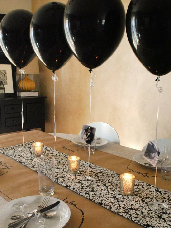 fiestas centros mesa velas velas