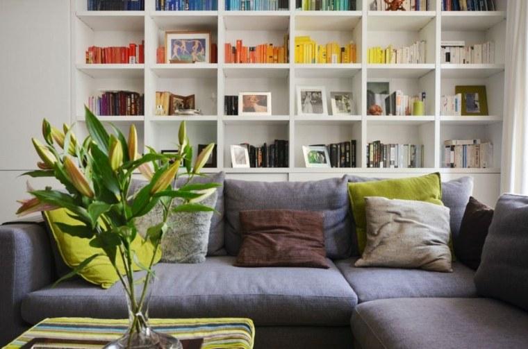 fondo estante colores especial libros