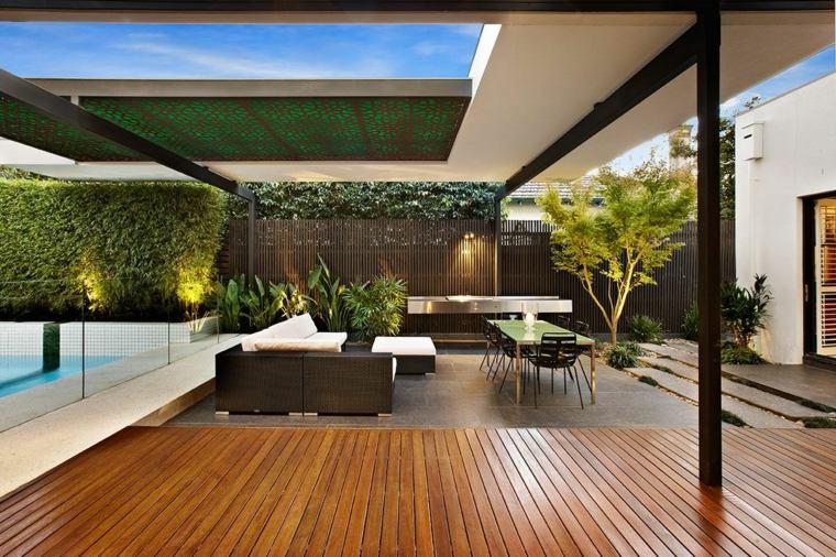 fotos de cocinas jardin Cos Design opciones ides
