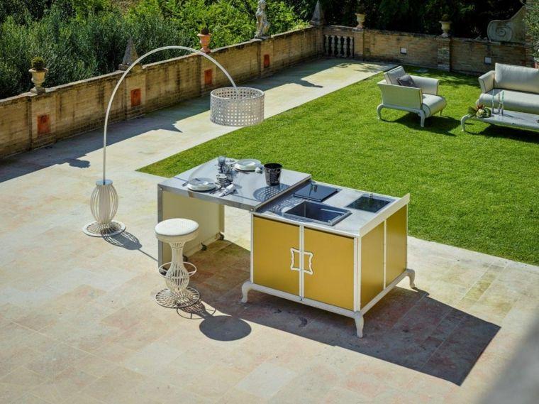 fotos cocinas jardin Samuele Mazza DFN ideas