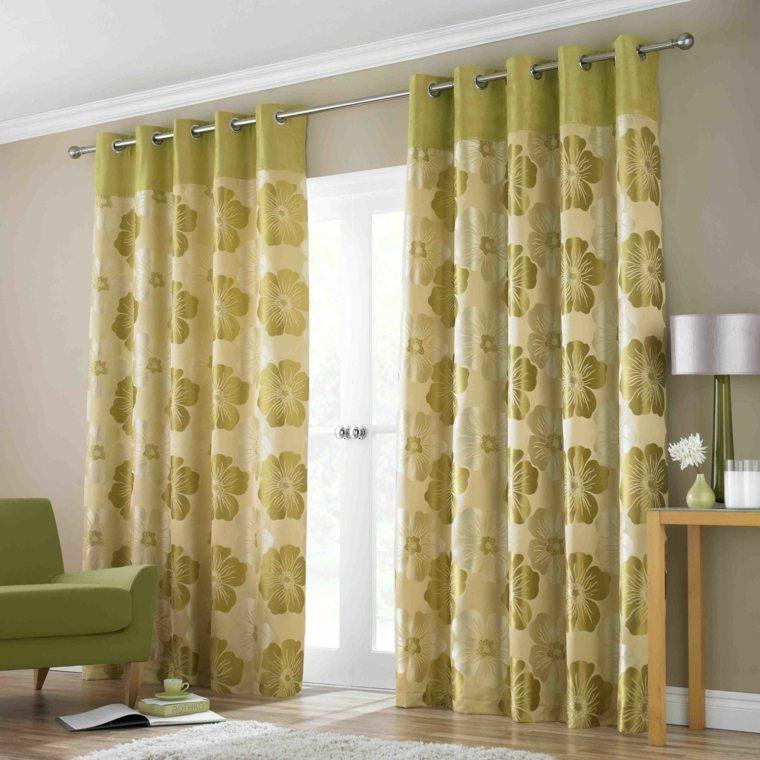fotos de cortinas decorar salones