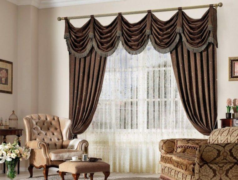 fotos de cortinas salones