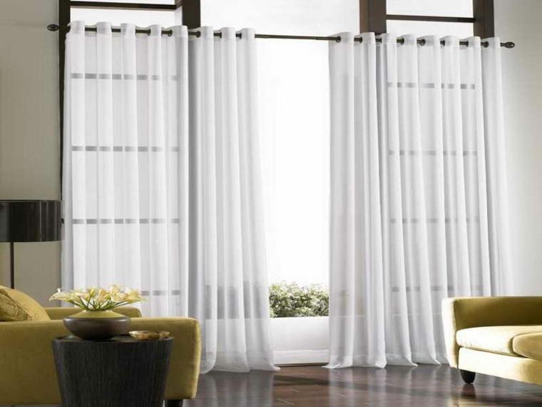 Fotos de cortinas para unos interiores muy modernos