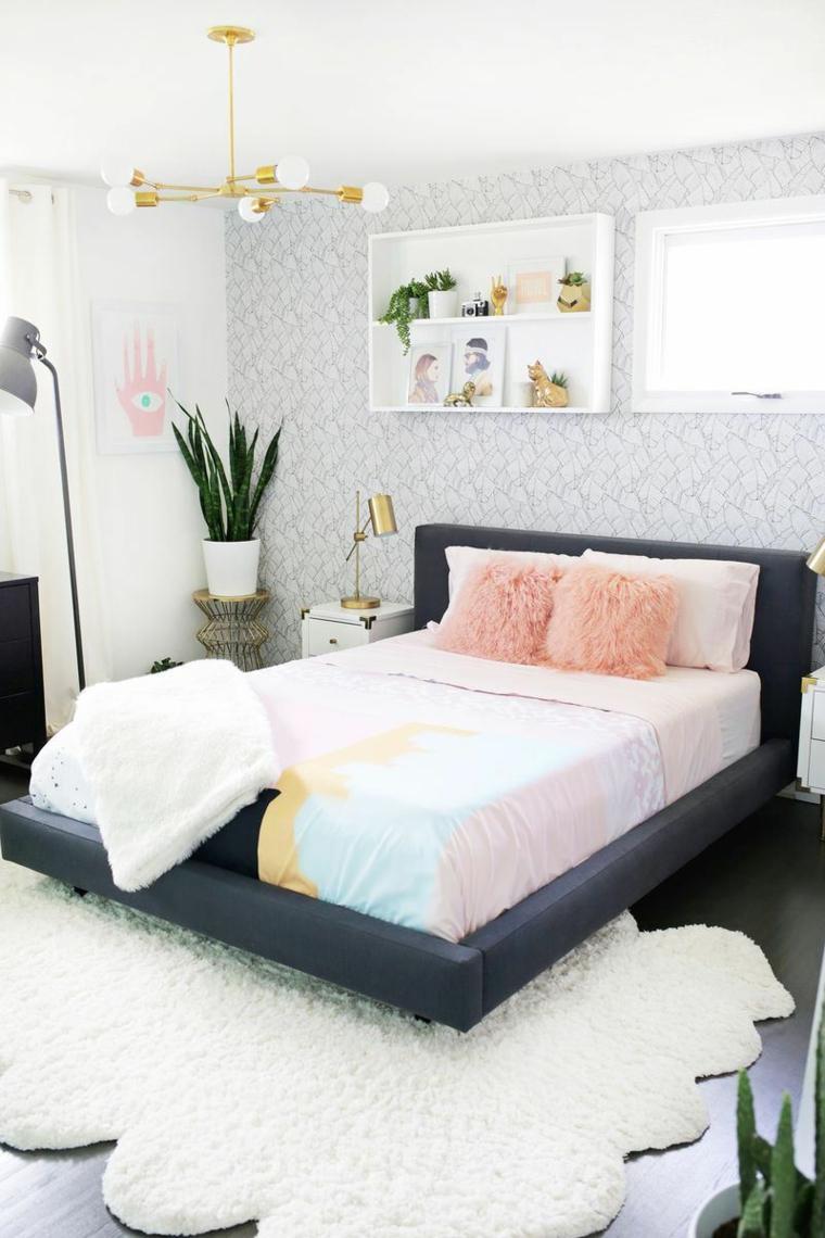Dormitorios Dise O De Colores Y Muebles Funcionales # Muebles Dormitorios
