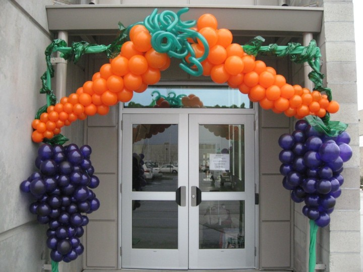 frutas naranja contraste entradas puertas
