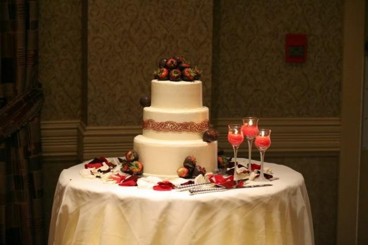 frutas salones manteles colores matrimonios