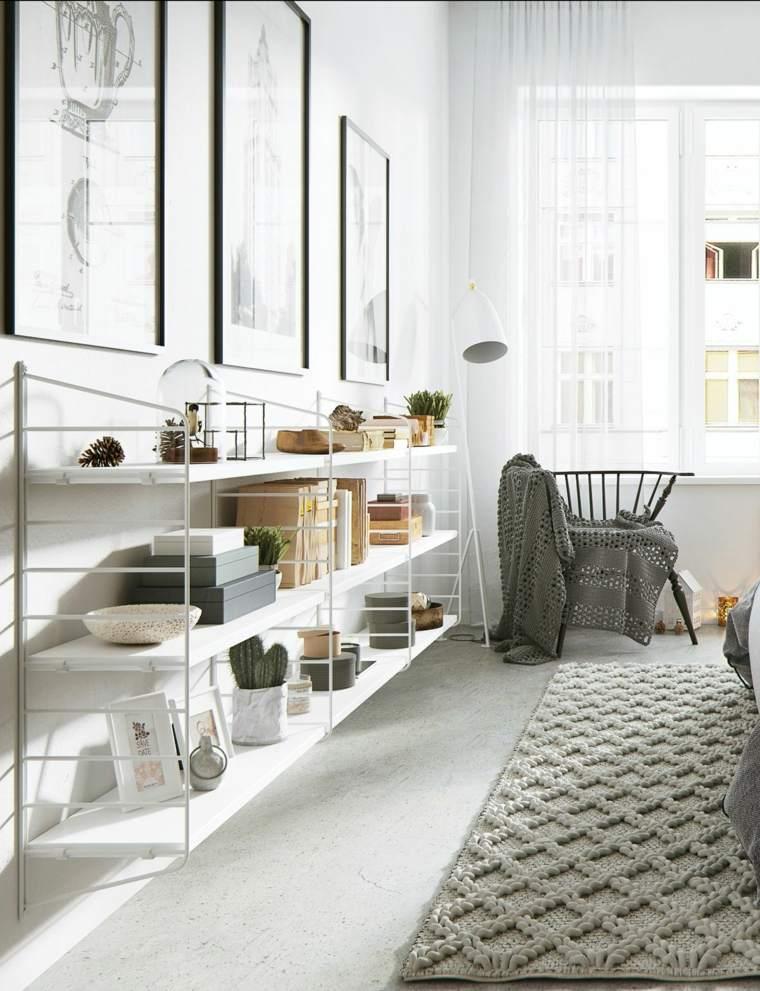 fusion espacio colores muebles cristales