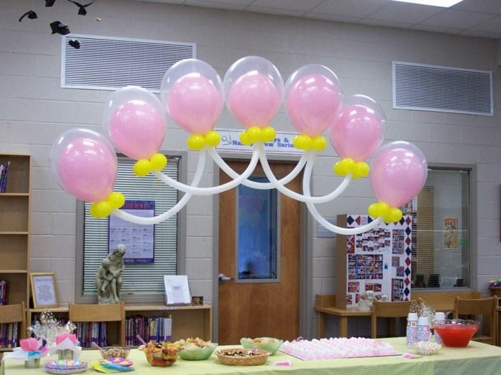 globos dentro otros fiesta estampados